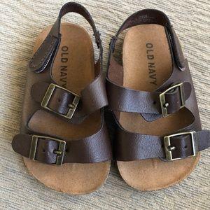 Baby Birkenstock style sandal